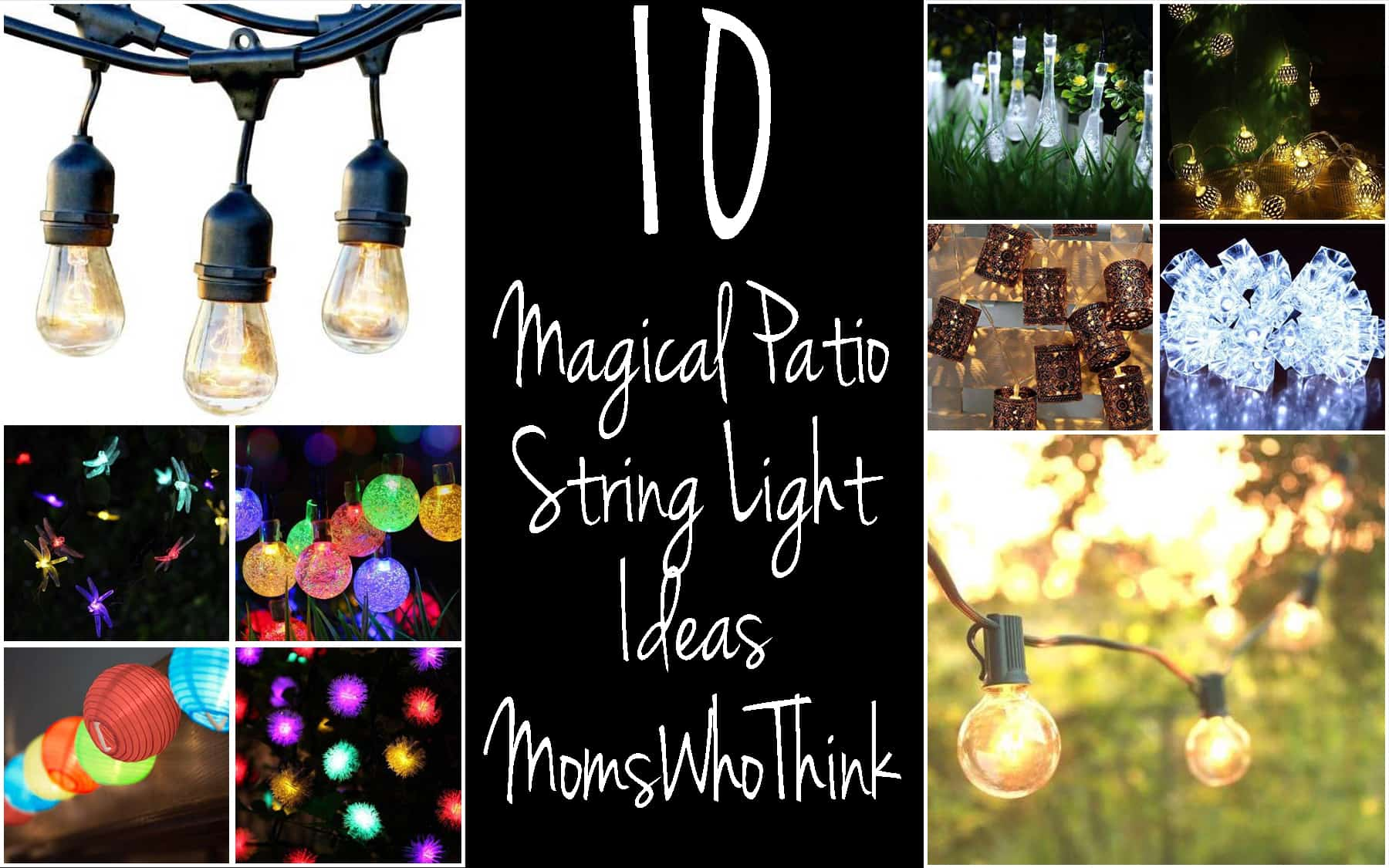Magical Patio String Lights