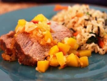 Peach Chutney Pork Roast