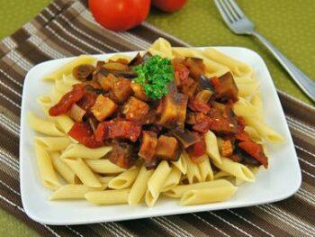 Penne_Italian_Eggplant_Mushroom_Sauce_1
