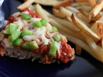 Pizza Meatloaf Pie