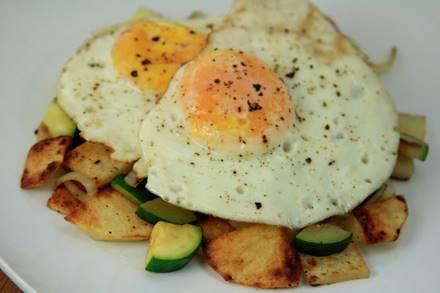 Potato Zucchini Hash