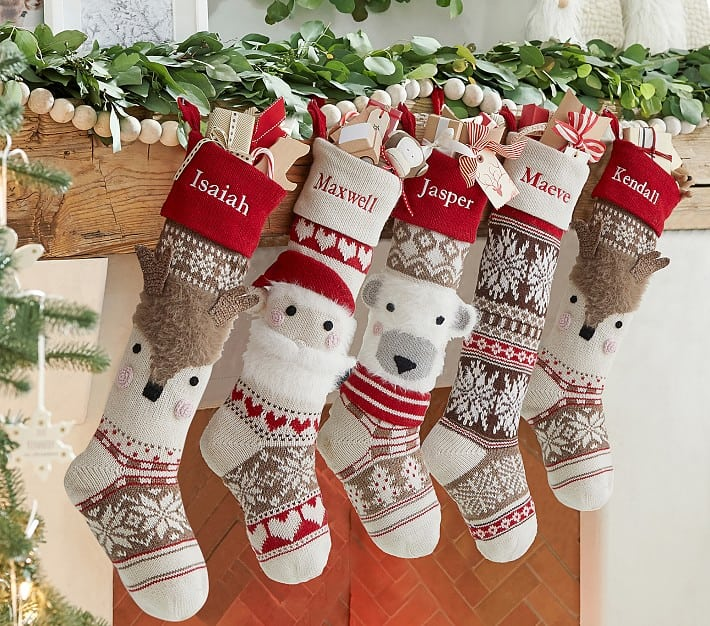 Baby's First Christmas Stocking from Pottery Barn Kids