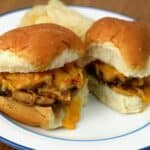 Pulled-Smoky-Chicken-Sandwiches-with-Cheddar-2