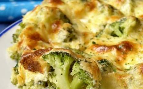 Baked Broccoli and Cheese