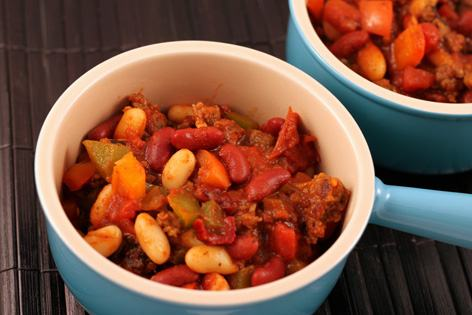 Chipolte Red and White Bean Chili