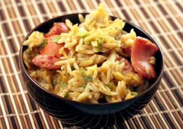 Sausage and Orzo