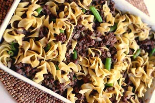 Healthy Savory Beef Pasta Recipe