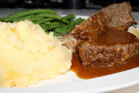 Simple-Meatloaf