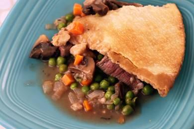 Skillet Beef Pot Pie