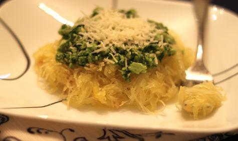 Spaghetti_Squash_with_Edamame-Cilantro_Pesto