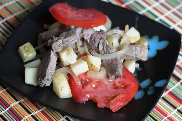 Steak and Potato Stir-Fry