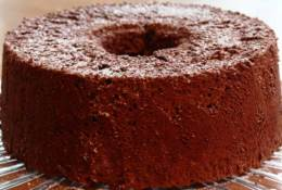 Chocolate Angel Food Cake