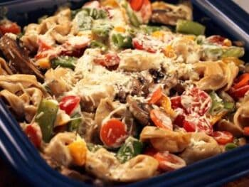 Tortellini Vegetable Bake
