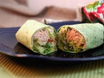 Turkey Cobb Roll Ups