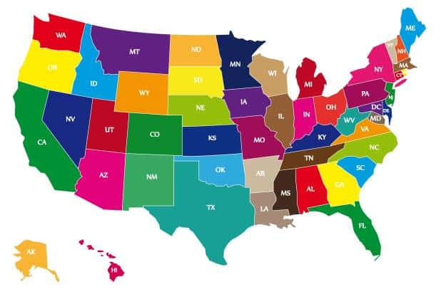 Popular Baby Boys Names by State