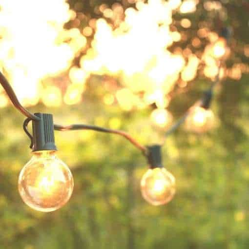 Magical Patio String Lights - Moms Who Think