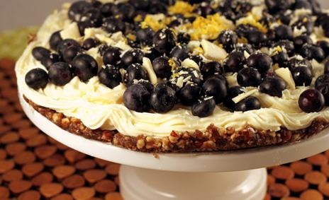 White_Chocolate_Blueberry_Cheesecake_Pie