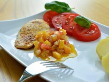 triple mango chicken recipe