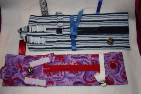 Buckle and Button Bow