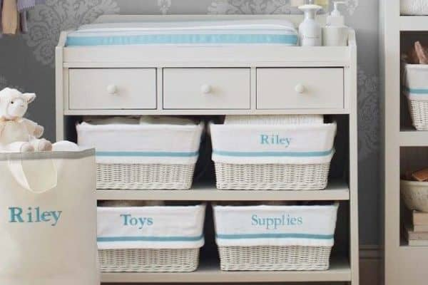For the most effective use of your changing table follow these tips and baby room ideas.