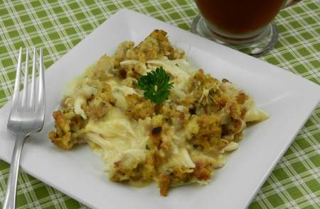 chicken stuffing casserole recipe