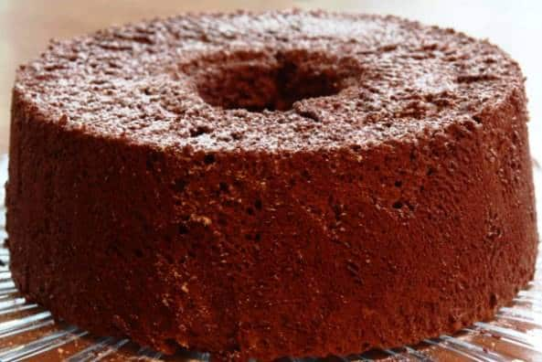 Chocolate Angel Food Cake Recipe - Moms Who Think