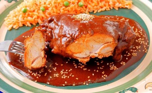 Easy chicken en mole recipe