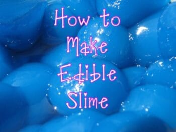 How to Make Edible Slime