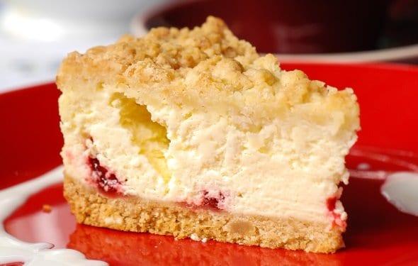 Filled Cheesecake Recipe