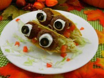 Halloween Eyeball Tacos Recipe