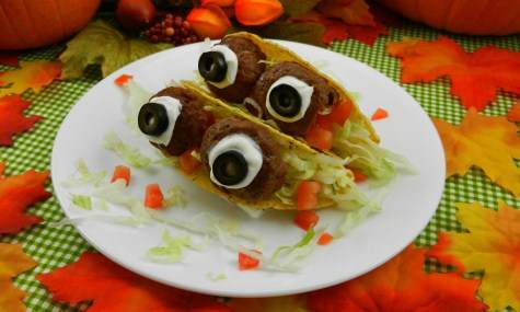 Halloween Eyeball Tacos Recipe