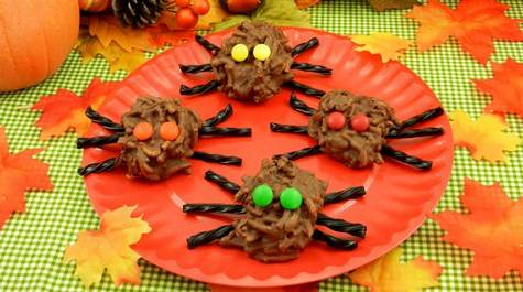 Halloween spiders recipe