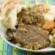 swiss steak with mushroom gravy
