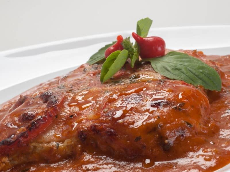 easy basil sirloin recipe