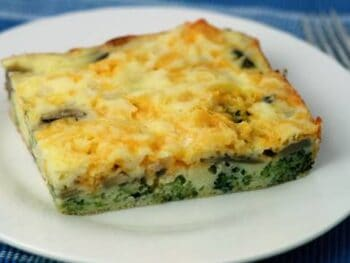 Impossible Broccoli Cheese Pie