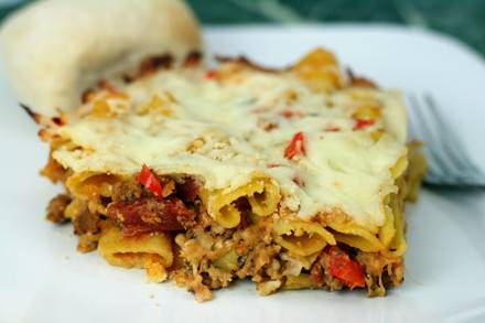 Italian Sausage and Pasta Bake