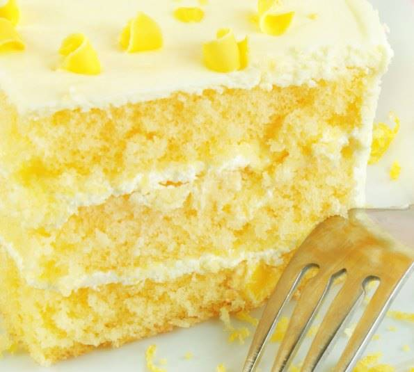 Recipes for lemon cake from scratch