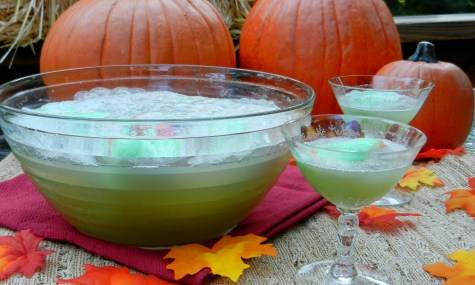 Moms Who Think Slime Punch Recipe