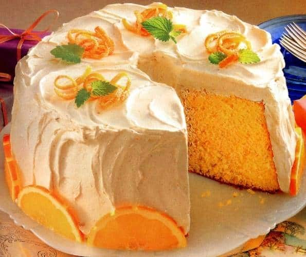 Orange Cake Without Baking Powder