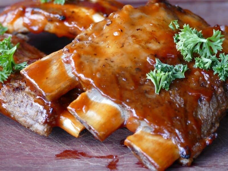 orange sesame ribs recipe