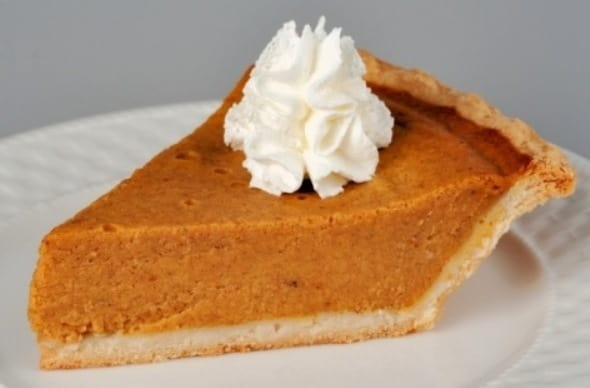 Classic Pumpkin Pie With Cinnamon Whipped Cream Recipe ...