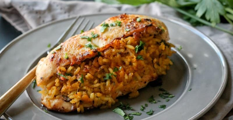 Rice Stuffed Chicken Breasts Recipe Moms Who Think