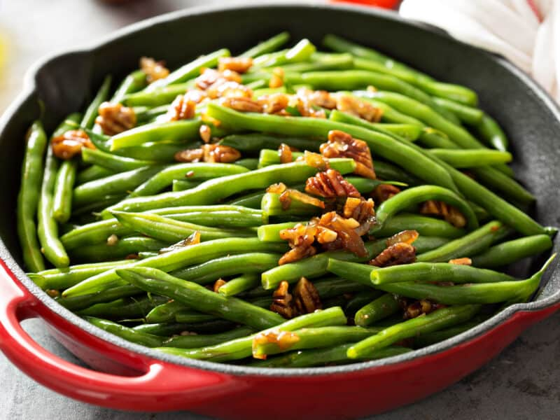 Green Bean and Pecan Salad