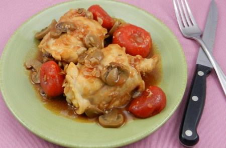 skillet chicken divine recipe