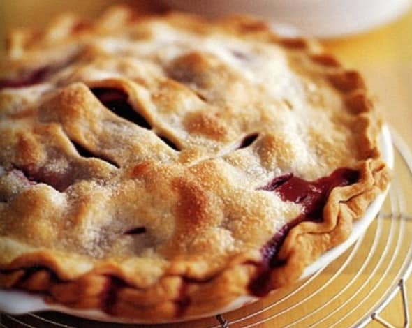 Strawberry Rhubarb Pie Recipe - Moms Who Think