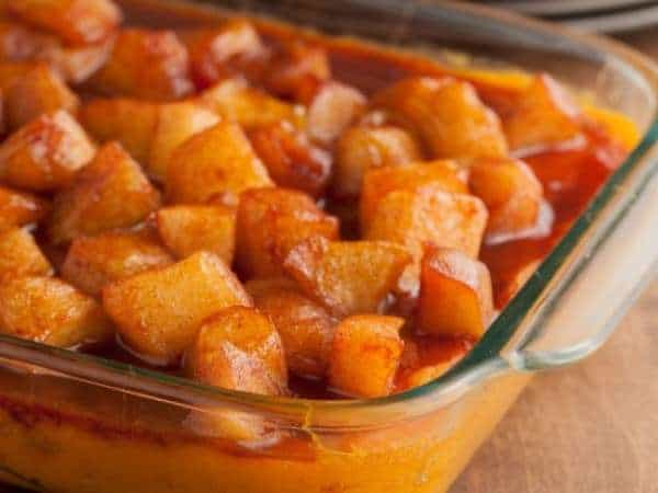 Sweet Potato and Apple Casserole - Moms Who Think