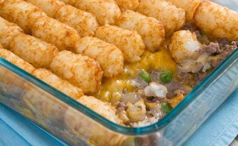 Tater Tot Casserole Recipe - Moms Who Think